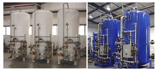 Mix bed type - water treatment system